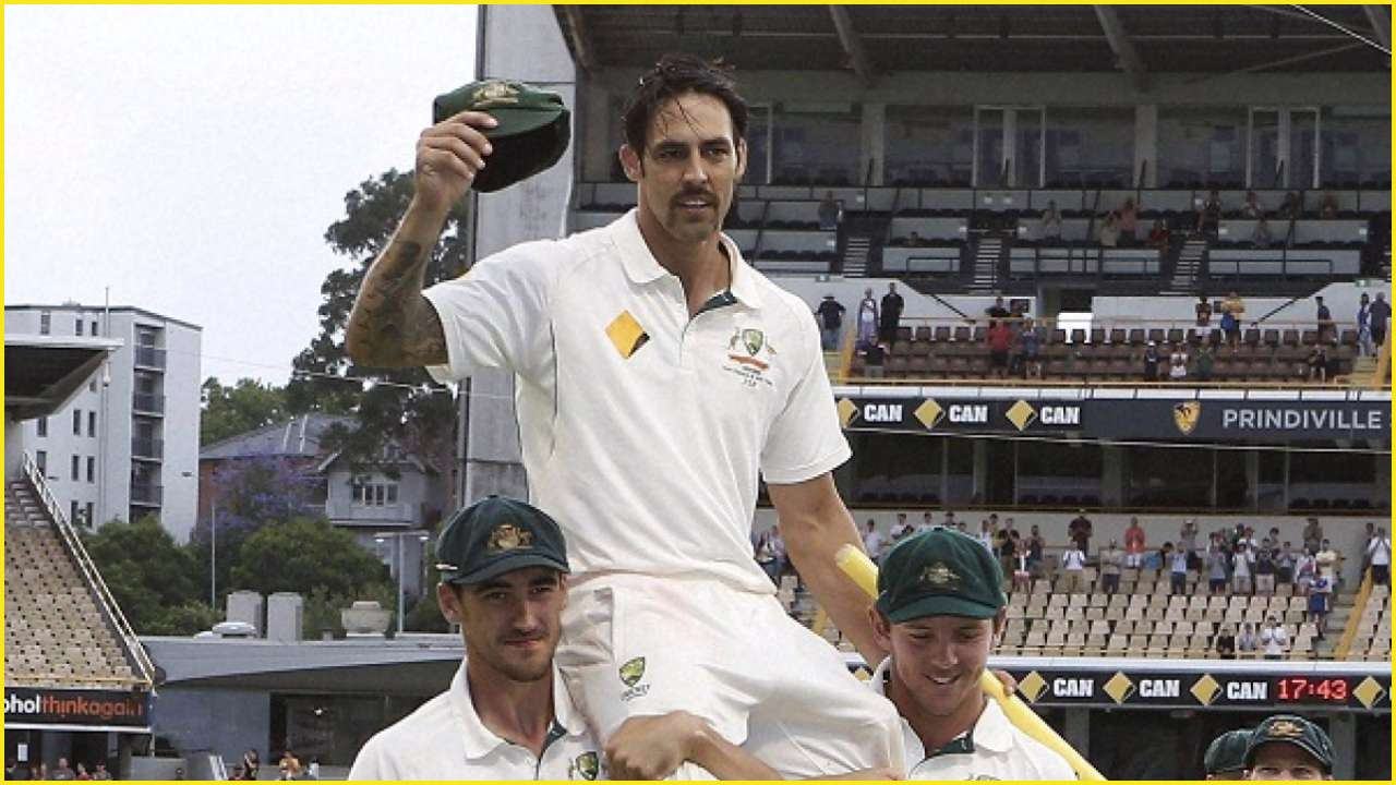 Mitchell Johnson becomes MCC Honourary Life Member