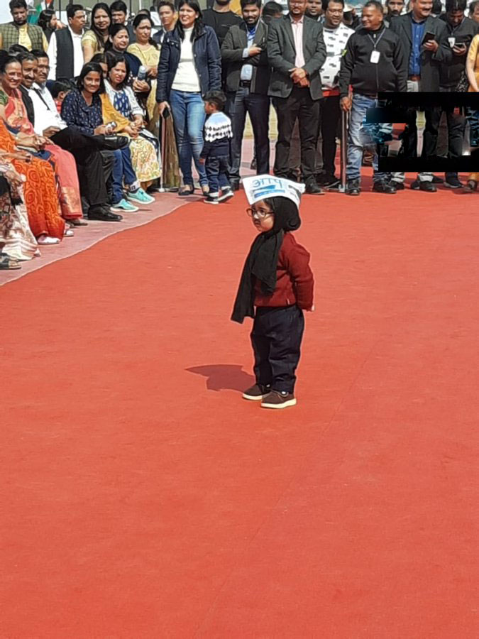 டெல்லி முதல் மந்திரியாக 3வது முறையாக பதவியேற்றார் அரவிந்த் கெஜ்ரிவால் Maflar-man